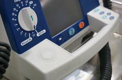 Defibrillator in hospital Kuvituskuvat