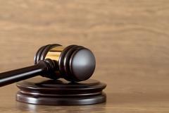 Judge gavel Stock Photos