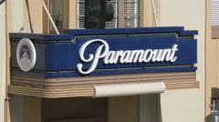 USA Hollywood Paramount studios sign Stock Footage