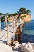 Stock Photo of agios sostis, small island in greece, zakynthos