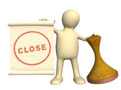 Stock Illustration of Close