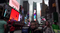 NYC - Times Square - stock footage