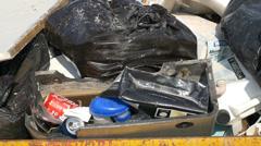 Garbage Skip - stock footage
