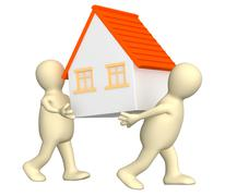 New house - stock illustration