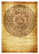 Maya kalenteri Piirros