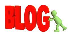 Stock Illustration of Blogger