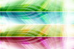 abstract colorful banners - stock photo