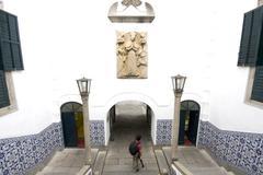 Leal Senado, Macao World Heritage Cultural Museum - stock photo
