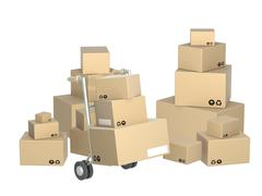 Stock Illustration of Boxes