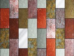 Rusty background - stock illustration