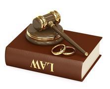 Marital agreement Stock Illustration