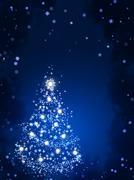 Christmas background - stock illustration