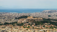 Stock Video Footage of Acropolis Parthenon, Athens, Greece, Timelapse, Ultra High Definition