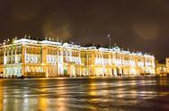 Stock Photo of exterior hermitage in sankt petersburg