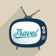 Travel and cultures Stock Illustration