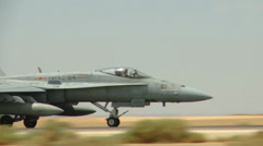 Jet fighter aircraft Stock Footage
