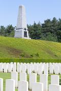 New british cemetery world war 1 flanders fields Stock Photos