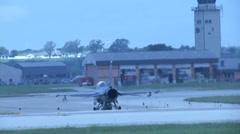 Aircraft at Kelly Airfield Kelly Airfield, Joint Base San Antonio, Lackland Stock Footage