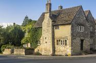 Stock Photo of house lacock wiltshire england united kingdom