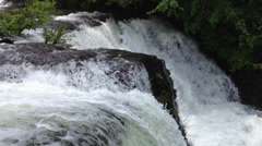De Soto Falls, Alabama - stock footage