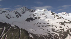In the mountains near Elbrus Stock Footage