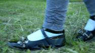 Stock Video Footage of Running feet