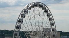 4K Niagara Falls Skywheel Stock Footage