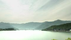 Lake Kawaguchi japan, color graded 4K (3840x2160) Stock Footage