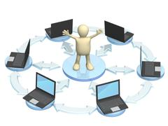 Stock Illustration of Internet