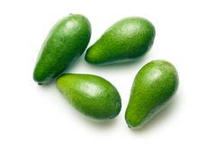 Green avocado Stock Photos
