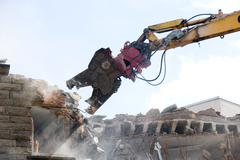 excavators bite - stock photo