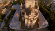 Stock Video Footage of St George Church Lviv - Aerial View