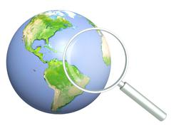 Stock Illustration of Information search