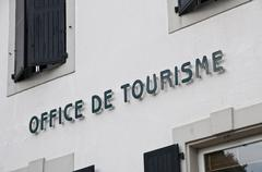 Stock Photo of French tourism office sign