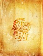 Stock Illustration of American Indian traditional patterns