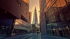The Shard at London Bridge, 4k, Ultra High Definition, Ultra HD, UHD Stock Footage