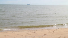 Sea Wave On Sun Shine Day - stock footage