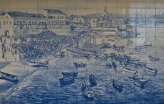 Mosaic of Estoril - stock photo