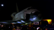 Stock Video Footage of Shuttle Endeavor Travels to the California Science Center 4K