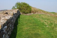 Hadrian's wall Stock Photos