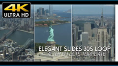 Elegant Slides 30s Loop 4K Edition - After Effects Template Stock After Effects