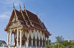 Wat Khao Lan Thom Stock Photos