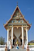 Wat Khao Lan Thom - stock photo