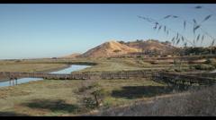 Don Edwards San Francisco Bay National Wildlife Refuge. Stock Footage