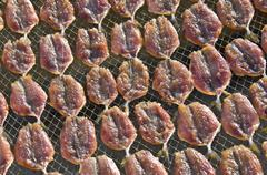 Dry fish - stock photo