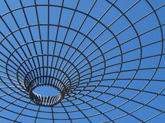 Imprisoned sky - stock photo