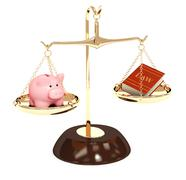 Law and money Stock Illustration