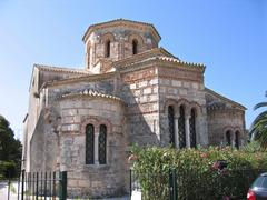 byzantine church - stock photo