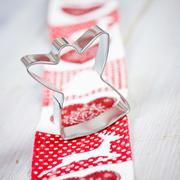 cookie cutter angel - stock photo