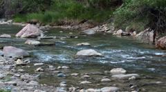 Virgin River Zion National Park Utah HD Stock Footage